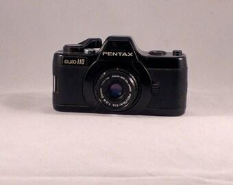 Pentax Auto 110 SLR camera -worlds smallest SLR film camera