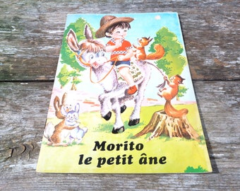 Vintage 1970/70s French children's book Morito le petit and