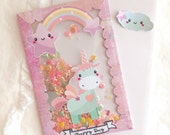 Unicorn Shaker Giftcard Holder, Money Holder, Shaker Card, Birthday Card, Congratulations