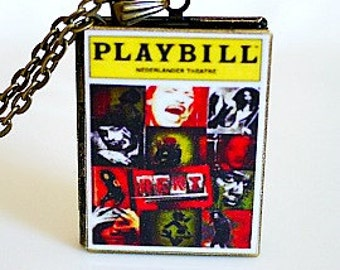 Rent, Broadway Playbills, Rock Musical, NYC East Village, Seasons of Love, LGBT-Related Musical, Tony Award Best Musical, Rent Playbill