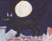 Homage to Jacques de Seve - the Carthusian cat