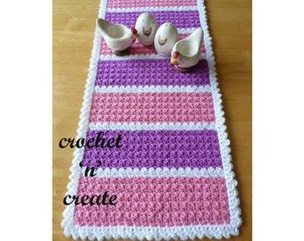 Table Runner Crochet Pattern (DOWNLOAD) CNC08