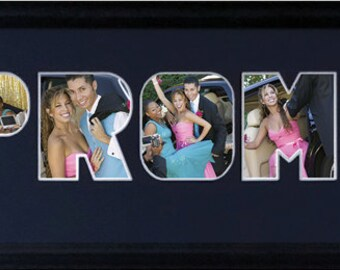 Prom 2017 Photo Collage in 8 x 20 (mat only)