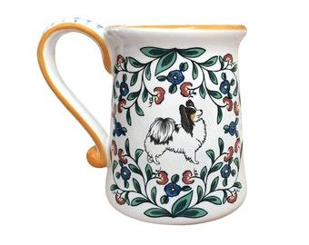 Papillon Dog Lover Mug - Handmade