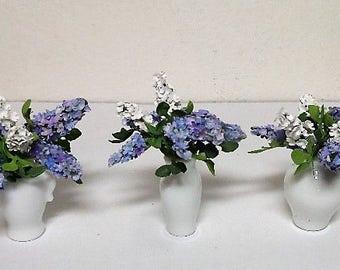 lilacs in miniature