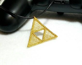 Lacy Triforce Charm