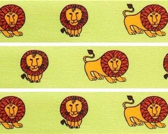 190266 green lion mt Washi Masking Tape deco tape