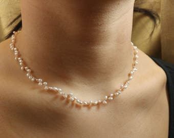 pearl vine neckalace