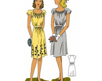 The Dorothy Lara Dress, Paper Pattern by Decades of Style