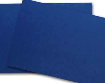 Classic CREST 130lb PATRIOT BLUE heavy Card Stock 8.5x11 - 25 sheets