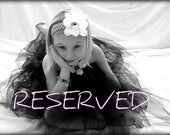 Reserved for AnnieBerger - Bulk order White skirts with White satin sashes