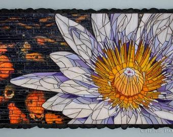 Water Lily - Fine Art Mosaic