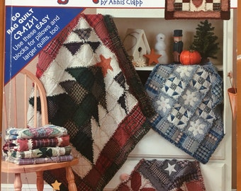 Leisure Arts A Year of Rag Quilts - 96 color pages