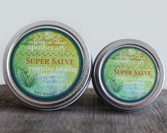 Super Salve - everyday healing - organic handcrafted healing herbal goodness!