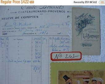 ON SALE Vintage Dennison Organization Labels, 12 Vintage Dennison Gummed Labels No.261