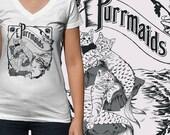 Custom Purrmaids Shirt