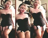 Showstopping Show girl- Blackmail lace Warners The Original Merry Widow 36 B