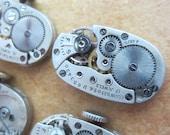 Steampunk supplies - Watch movements - Vintage Watch movements Steampunk - Scrapbooking W12