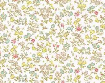 Liberty Tana Lawn Fabric Garden of Dreams Collection Fat Quarter Meadow Sweet B