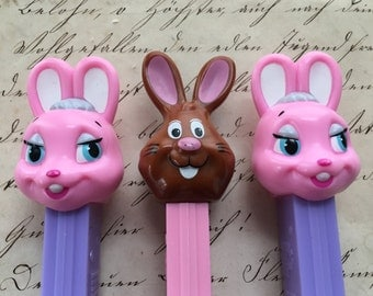 Easter Bunnies PEZ Dispensers