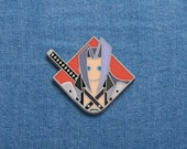 "Final Fantasy Enamel Pin - Sephiroth - FFVII Soft Enamel Pin - 1"" x 1.10"" - FF7 - Video Games - Lapel Pin - Nerd - Geek - Cool Pins"