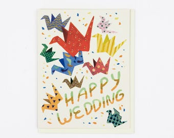 Wedding Cranes Card
