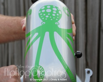 Octopus Graphic for Professional Kitchen Mixer