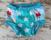 Peppa Pig and Friends  Childrens Underwear - You Choose Size, blue, pig, cartoon, stars, friends, polka dots