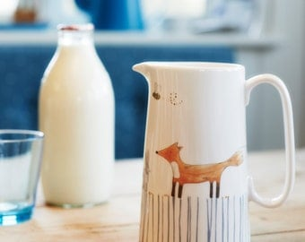 In The Woodland Pint Jug