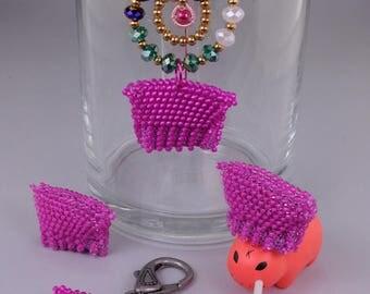 Tutorial: Bead Crochet Mini Pink Pussy Hat