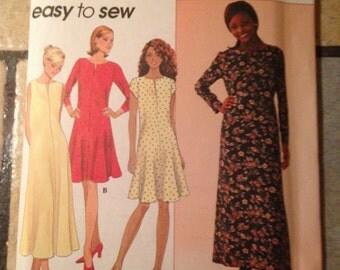 Simplicity 7324 Size 16, 18, 20 Misses' Dress Pattern UNCUT