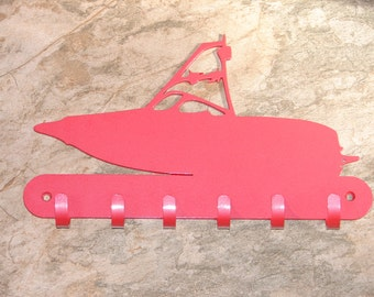 Wake Board  Boat KEY RACK Home Decor Hat Leash Hanging Outboard Ski