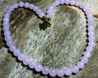 """Rose Quartz Necklace.  Support """"Shepherd's Gift; GM1 for HD""""  (Free Shipping!)"""