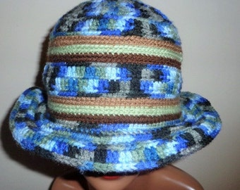 Down with Twilights, Crochet Brim Cap
