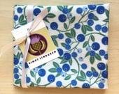 Blueberry Sprig Fabric, Fat Quarter
