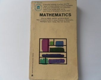 Mathematics edited by Samuel Rapport and Helen Wright vintage paperback 1964