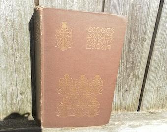 The Lyrics and Ballads of Sir Walter Scott 1894