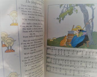 Nursery Friends from France Vintage Book 1927 The Book House for Children