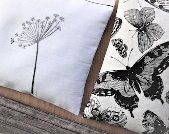Gift for Mom, Lavender Sachet Set - Butterflies, Dandelion, Wood Farmhouse Decor