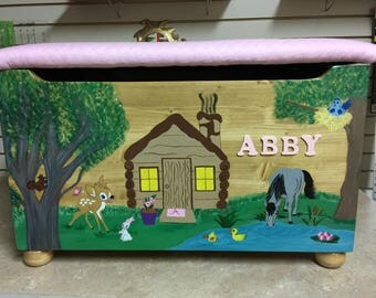 Cabin in the Woods Toy Box