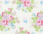 NEW Rambling Rose from Tanya Whelan Rambling Rose on White  YES!! Continuous fabric cuts and shipping is combined