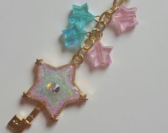 Star Key Charm - planner charm