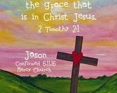 Confirmation Gift Christian Scripture Art Bible Verse