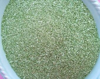 German Glass Glitter - Spring Green - 1 ounce