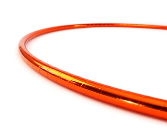 "3/4"" Orange SuperShine Polypro Hoop 