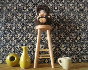 1/12 Scale Downloadable Printable Dollhouse Gilded Damask Wallpaper