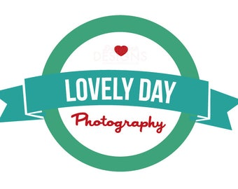 Premade Photography Lovely Day Logo Design