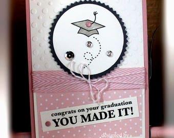 Stampin' Up Graduation Card