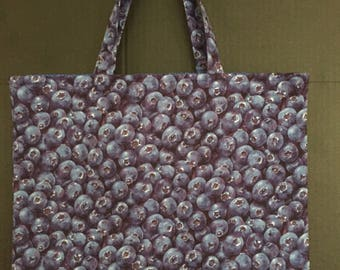 Blueberry Market Bag/Tote Bag/Shopping Bag