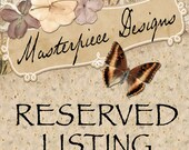 Reserved Listing for Pam Briney / MyMagnificentMagnets